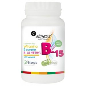 Witamina B Complex B-15 Methyl 100 kapsułek